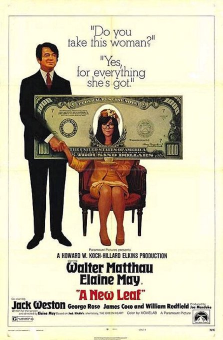 Happy birthday to comic acting/writing/directing genius Elaine May!