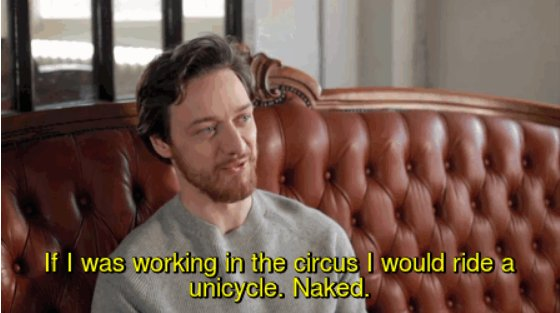 Happy 38th Birthday childishly happy James McAvoy