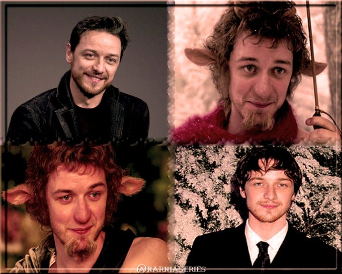 Happy Birthday to our Mr. Tumnus, James McAvoy!