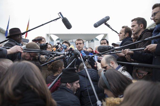 Il y a eu des journalistes qu'on ne faisait pas siffler Photographe officielle @soazigdlm