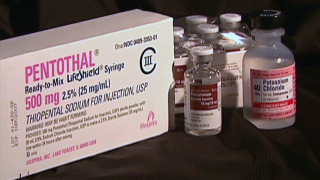 FDA decides that Texas lethal injection drugs must be destroyed or exported?