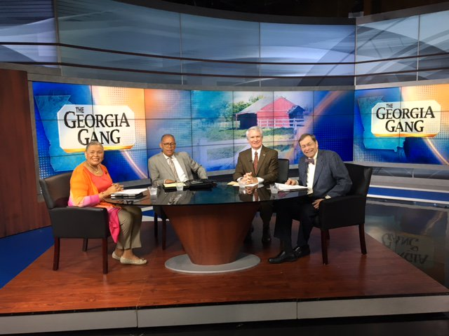 Don't miss #TheGeorgiaGang, with @gagangwoman, @DickersonComm, @PhilKentAtl and Dick Williams, coming up NEXT on FOX 5!