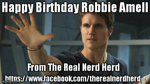 4-21 Happy birthday to Robbie Amell.