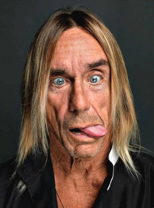 Happy 70th birthday to Iggy Pop!   Hear his music throughout the day on OpenAir: