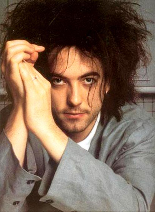 Happy birthday to lead singer of The Cure, Robert Smith!