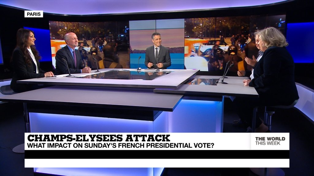 THE WORLD THIS WEEK - Champs-Elysées Attack: What impact on Sunday's Election? (part 1)
