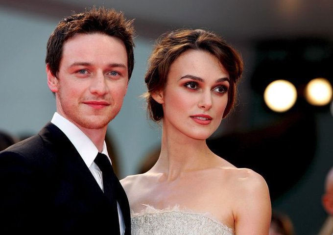 Keira Knightley and James McAvoy at the 64th Venice Film Festival (2007)Happy Birthday James McAvoy!!