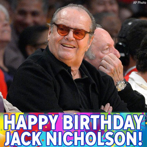 Happy 80th Birthday to Oscar-winner and star of Jack Nicholson!