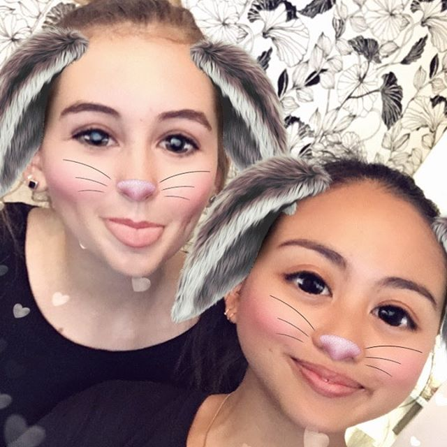 Saturday 22 April, 10:05 a.m. - Easter bunny bought a new staff member to Tuihana cafe �� welcome Rachel ��
