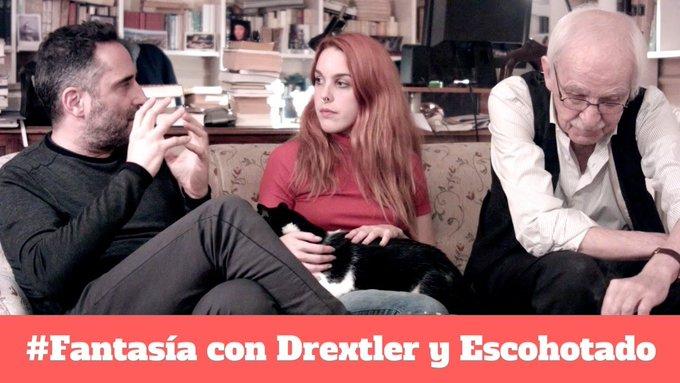 Ya podéis ver #Fantasía charlando con @AEscohotado y @drexlerjorge https://t.co/dWSgQARMDc https://t