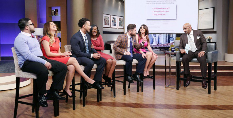 TOMORROW at 3, women test a theory on how to make a man fall in love + @EgyptSaidSo has tips to flip a house & make a profit! #SteveHarvey