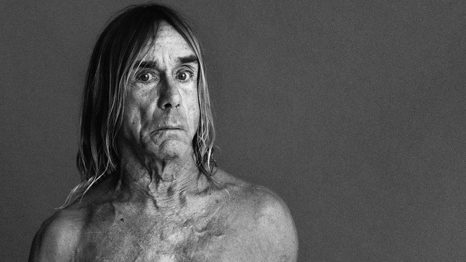 Happy 70th Birthday to IGGY POP. We should all be grateful he\s still on the planet and has a lust for life.