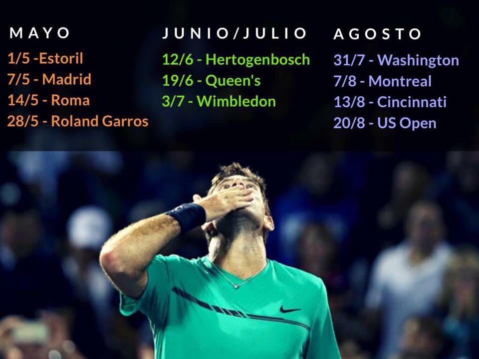 El calendario confirmado por @delpotrojuan hasta el USOpen https://t.co/g2nlnmEVxh