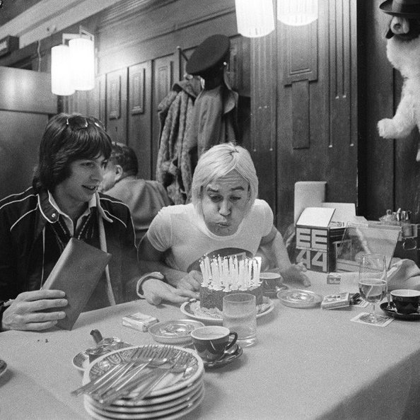 Happy Birthday, Mr. Iggy Pop.         - -