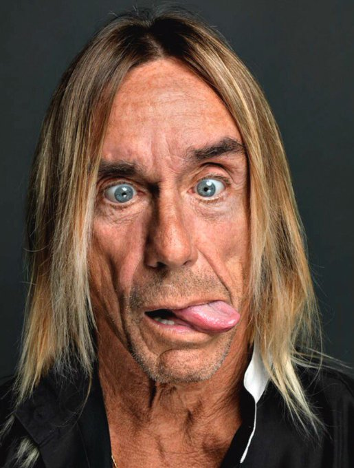 Happy 70th birthday, Iggy Pop!