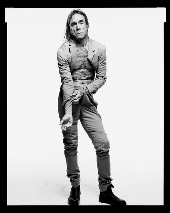Happy birthday, Iggy Pop! 70, today!