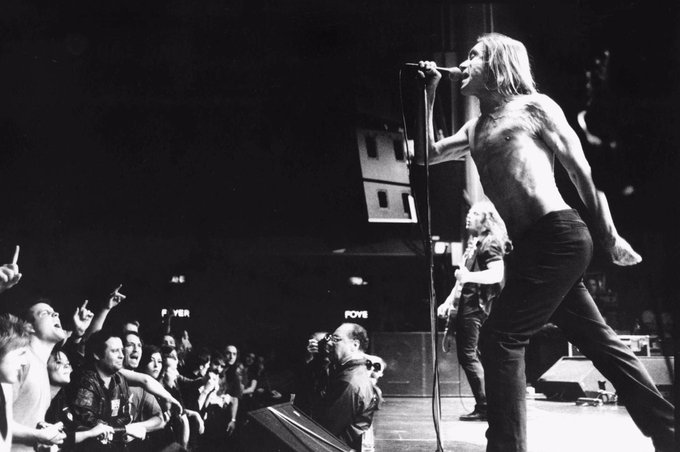 Happy birthday to a living legend, Iggy Pop