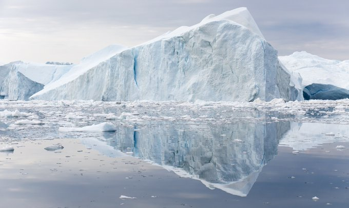 Here's what Earth will look like if all the ice melts #EarthDay