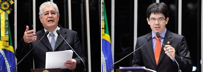 Após vídeo sobre abuso de autoridade, Randolfe e Requião batem boca pelas redes. https://t.co/JiRadZkzlL