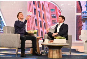 TOMORROW at 3, @HarryConnickJR welcomes #WorldOfDance's @derekhough & 's  #FamousInLove+ l@KeithTPowersong lost sisters reunite! #HarryTV