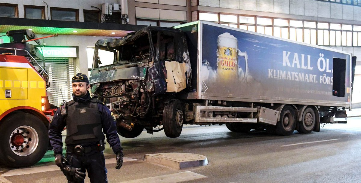 Sweden truck attack suspect was denied permanent residency