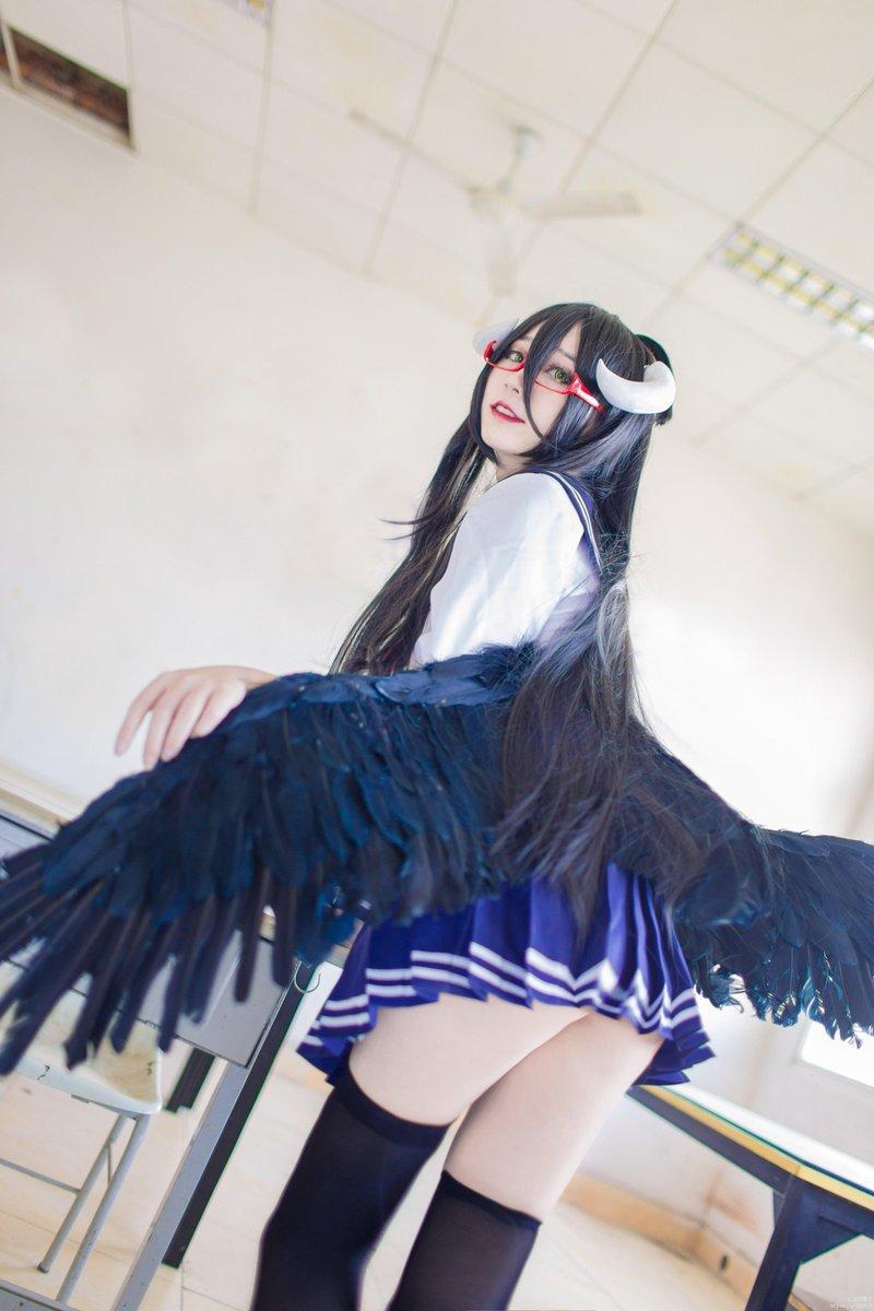 Albedo seifuku ver. C/N: Asano Kinoko - 浅野菌子#overlord #overl