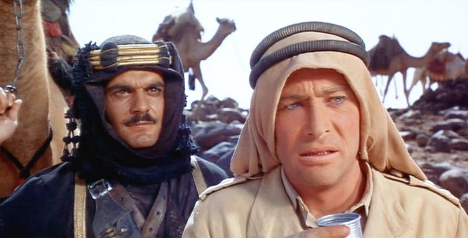 Happy Birthday, Omar Sharif... you are much missed. My tribute: