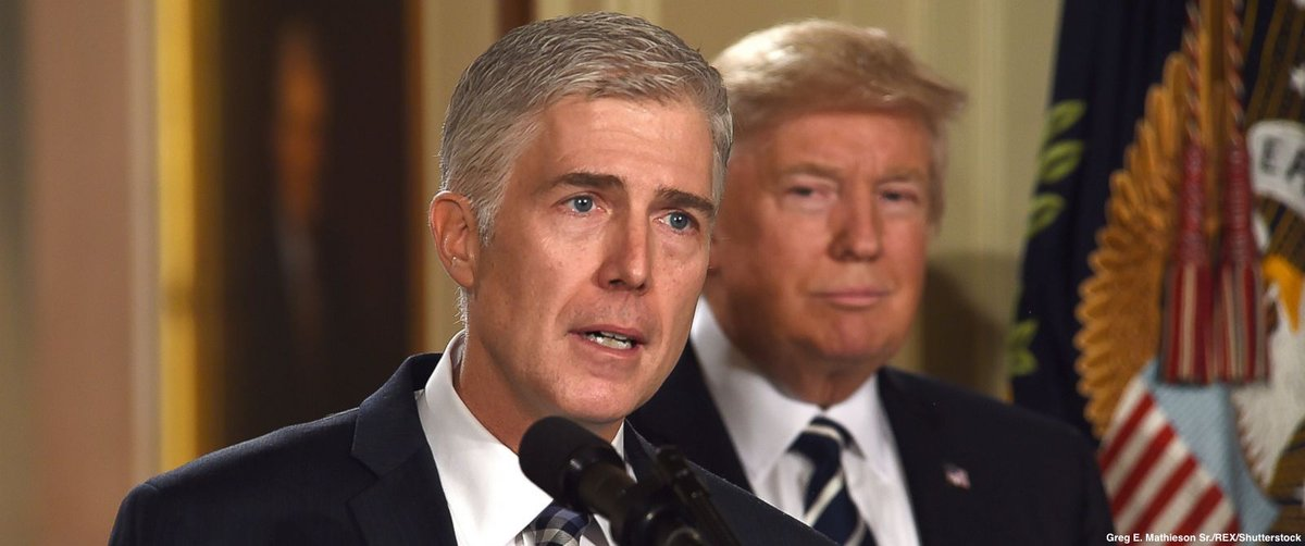 Judge Neil Gorsuch to take oath of office Monday after being confirmed to the Supreme Court.