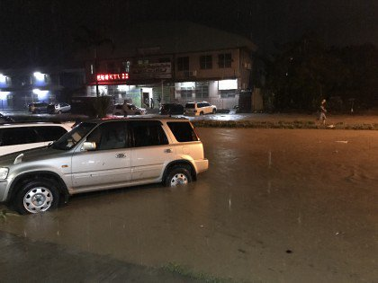 Parts of Honiara flood after heavy rain