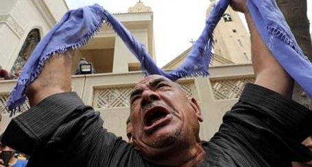 Egypt Palm Sunday church blasts have now killed at least 38 people