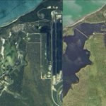 Before and after: Wetlands near Abbot Point Coal Terminal turn black