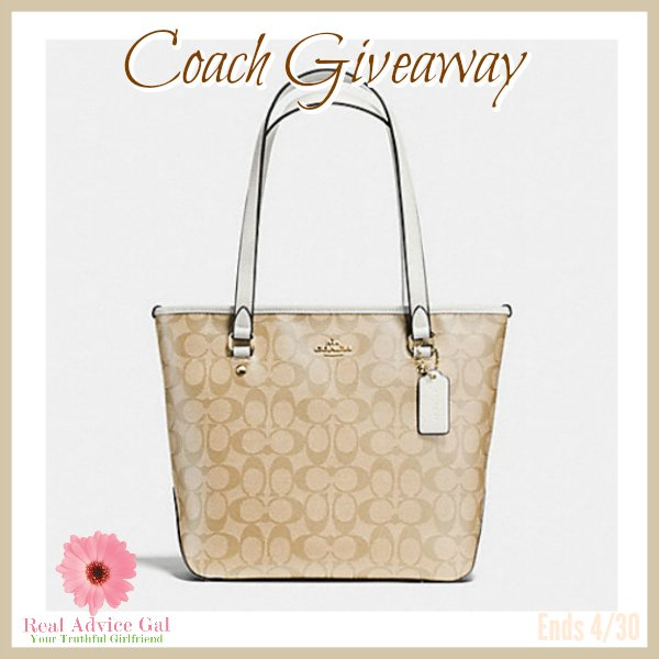 April Coach Purse Giveaway