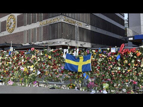VIDEO -  Sweden: Stockholm pays homage to the victims of truck terror attack
