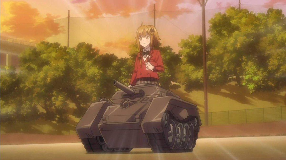 「ファンタジスタドール」どこにでもいる普通の中学生が戦車になるアニメ #オススメのアニメをひとつだけあげる