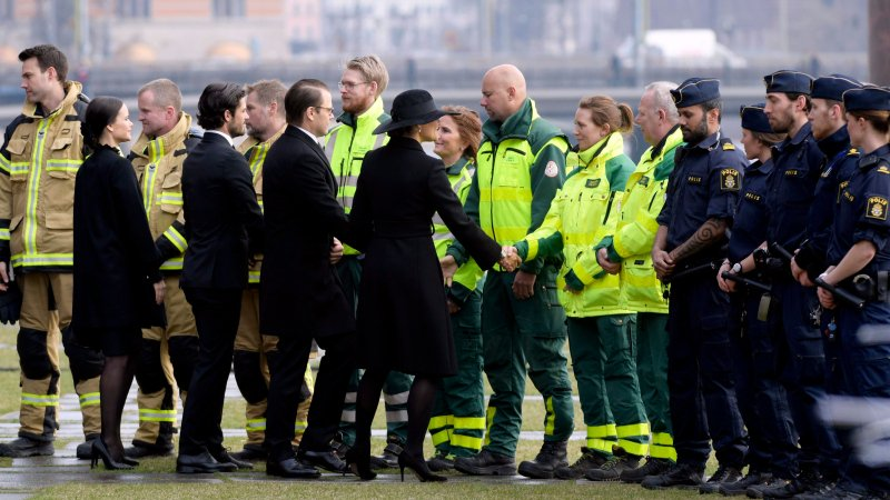 Sweden mourns 4 killed, 15 wounded in Stockholm truck attack
