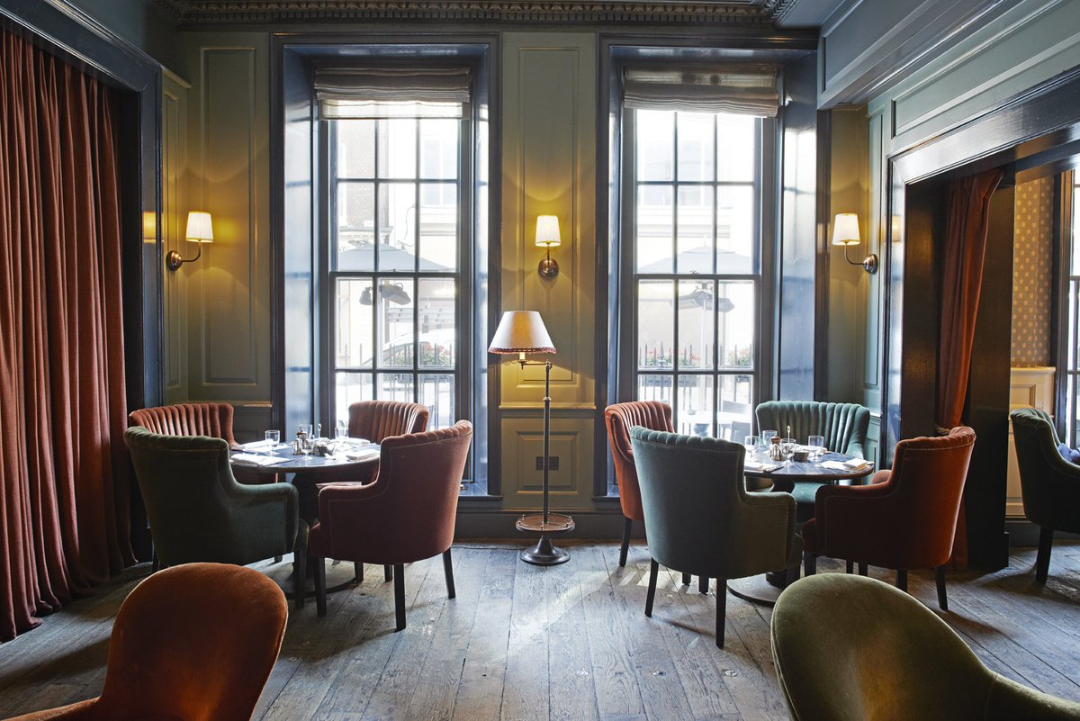Dean Street Townhouse Dining Room London's Best Restaurants For People Watching