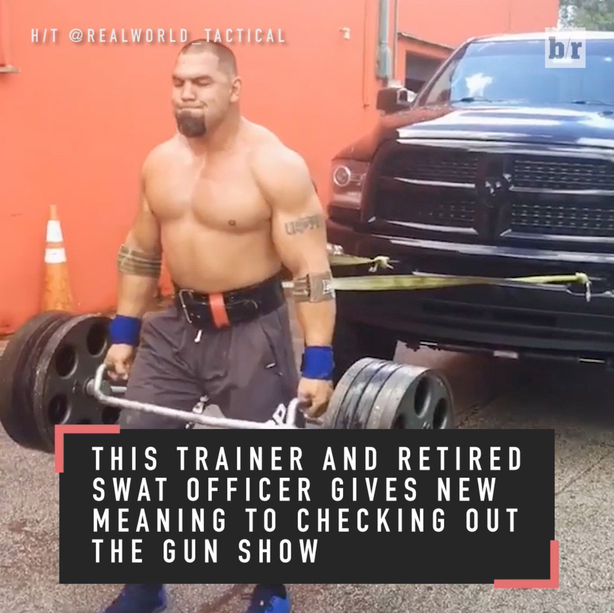 Retired Swat Officer Tony Sentmanat S Workouts Are On Another Level