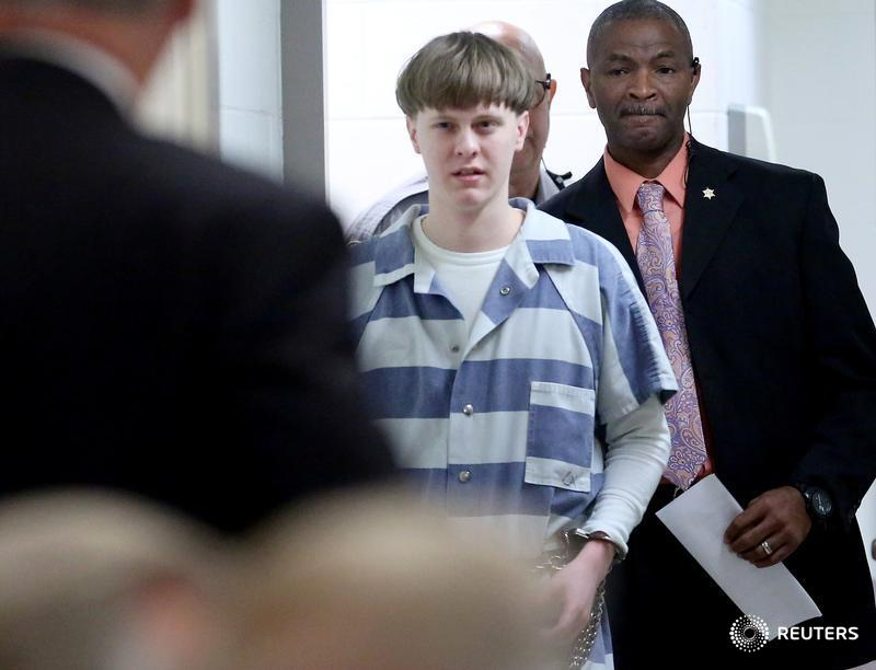 Charleston church shooter Dylann Roof pleads guilty to state murder counts: