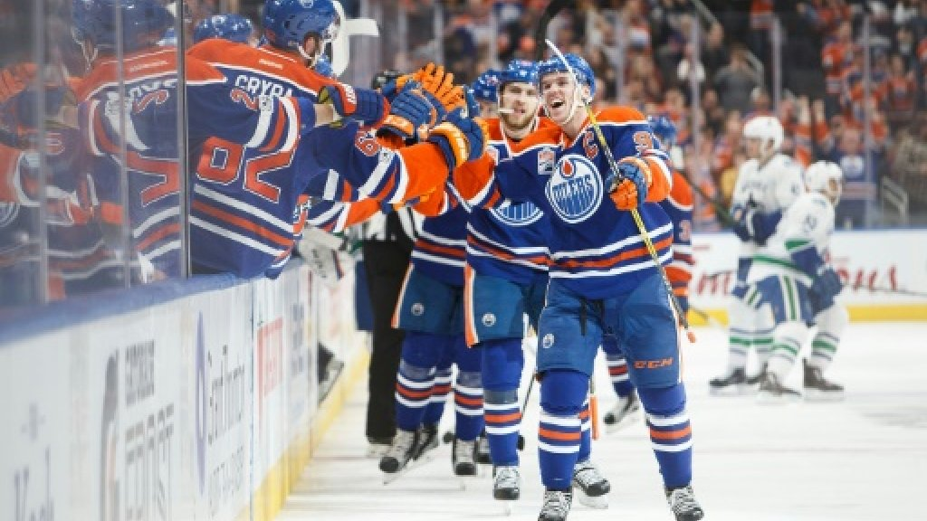 McDavid hits 100 points, Ducks clinch NHL Pacific title