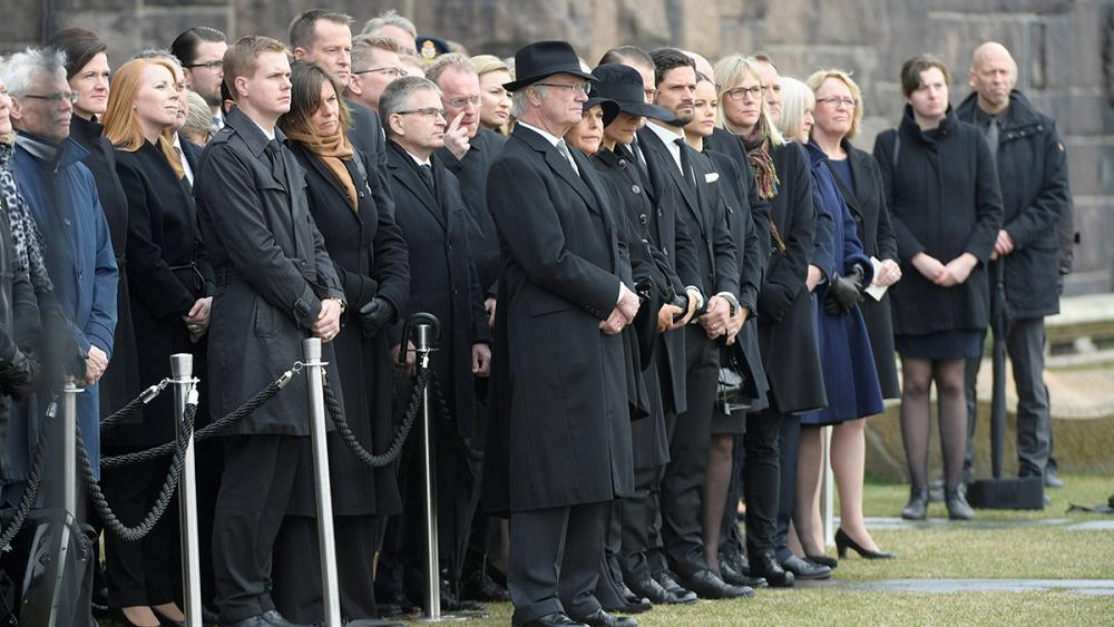 Sweden pays tribute to victims of horror truck attack
