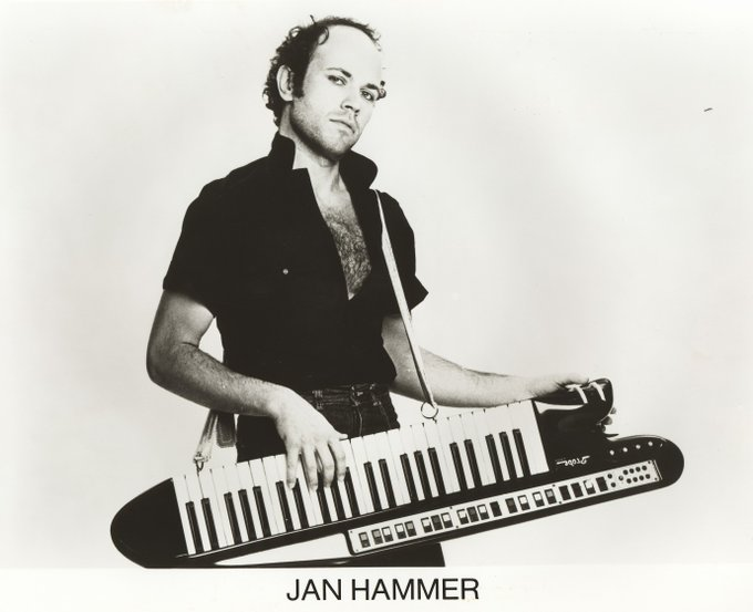 Happy 69th birthday to the original Hammer... Jan Hammer!
