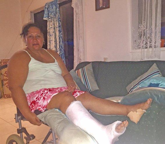 Horror crash shatters pair's lives