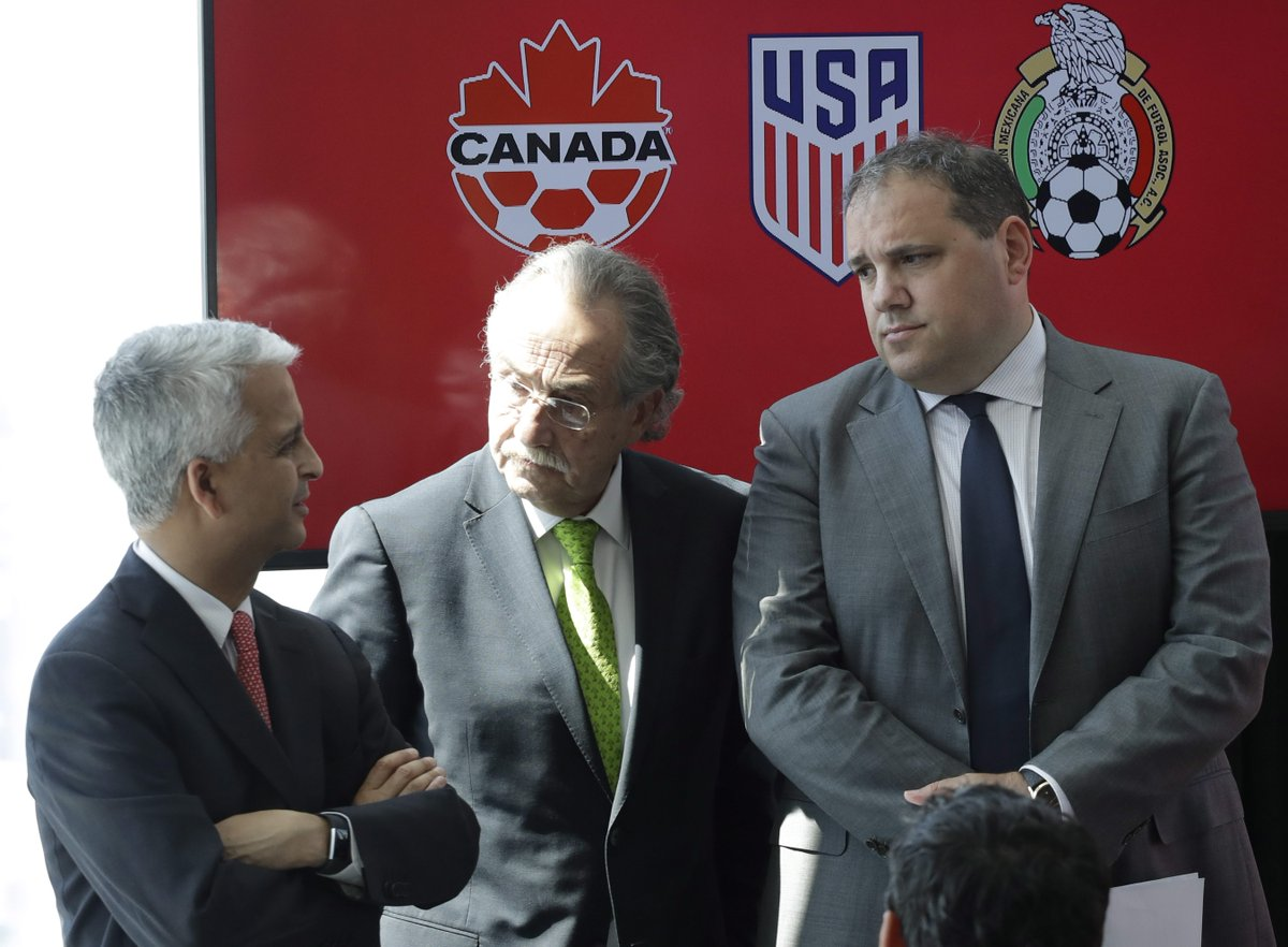 BREAKING: Canada, U.S. and Mexico launch joint World Cup bid