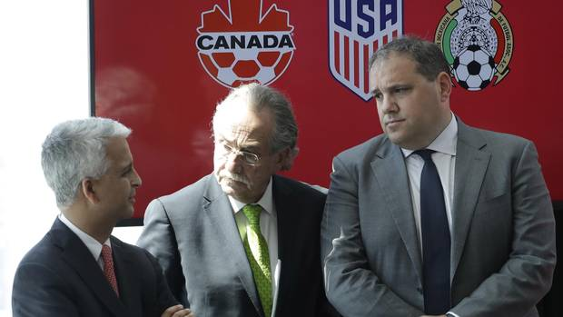 Canada, U.S. and Mexico launch 2026 World Cup bid