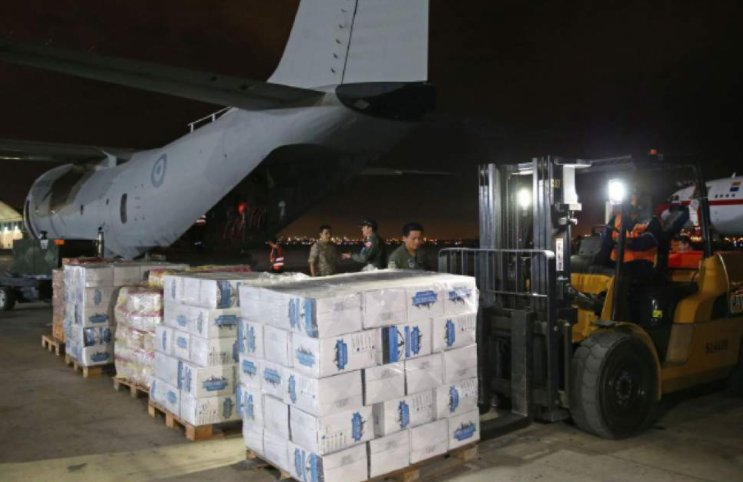 Mormon church ships tons of food to flood-plagued Peru