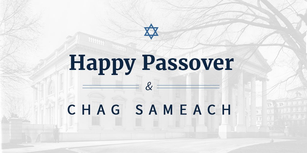 Happy Passover to all those celebrating! Chag Sameach!