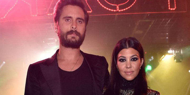 Proof that Kourtney Kardashian and Scott Disick are the friendliest exes ever