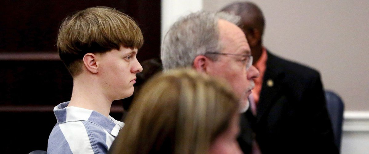 """Grandfather of Charleston church shooter speaks out in court: """"Dylann is not all bad."""""""