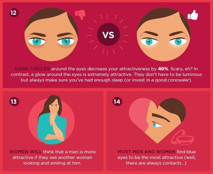 women body language eyes