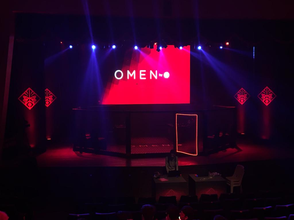 We are all set for the Omen by HP All Star Gamer Face Off. Stay tuned DominateTheGame https t.co ucCJTs9R8U